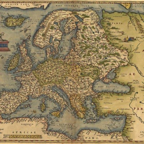 Карта Абрахама Ортелиуса