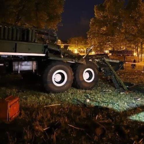 Взрыв салюта Минск
